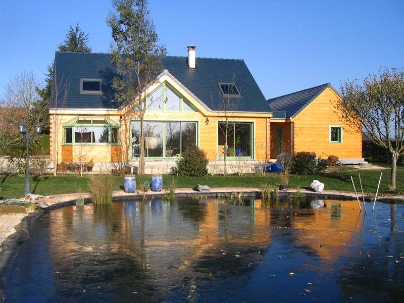 Extension de maison en bois dans les yvelines bati for Extension maison bois yvelines